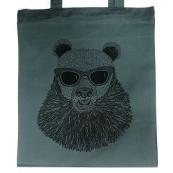 Tote bag sac Ours rock