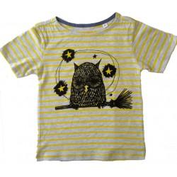 Tee-shirt chouette rayure...