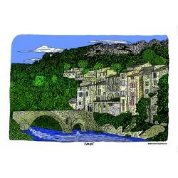 Carte postale Sauve - Vidourle