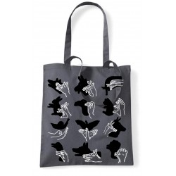 Tote bags - Ombres chinoises