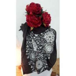 Sold out - Étole fleurs