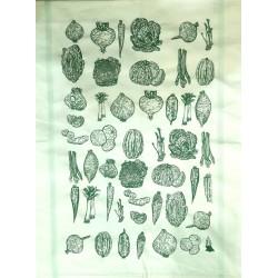 Essuie-mains légumes