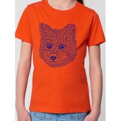 Tee-shirt enfant - Doux renard