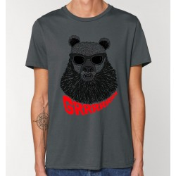 Tee-shirt adulte Ours Rock