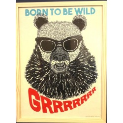 Affiche Born to be wild
